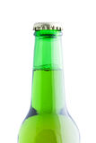 Bottle of beer isolated on white background Royalty Free Stock Photos