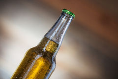 Bottle with beer Stock Image