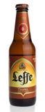 Bottle of Belgian Leffe Tripel beer Royalty Free Stock Images