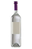 Bottle  with blank label. Royalty Free Stock Photography