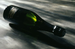 Bottle of  Bollinger Champagne Stock Photography