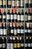 Bottle of Bordeaux Royalty Free Stock Images