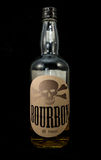 Bottle of Bourbon Stock Photo