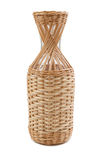 Bottle braided vine Royalty Free Stock Photo