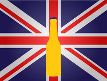 Bottle of British Beer Royalty Free Stock Images