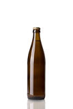 Bottle of brown beer Stock Photos