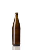 Bottle of brown beer Stock Photos