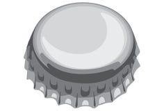 Bottle cap. One of bottle cap gray color Stock Image