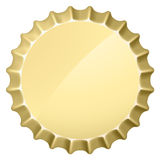 Bottle cap Stock Images