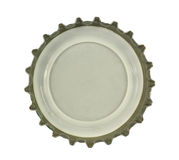 Bottle Cap. Isolated in white Royalty Free Stock Image