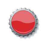Bottle cap for drinks  Stock Image