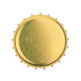 Bottle cap isolated on white background. without shadow Stock Images
