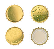 Bottle cap isolated on white background. without shadow Stock Photos