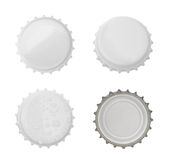 Bottle cap isolated on white background. without shadow Royalty Free Stock Images