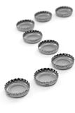 Bottle Cap Line Royalty Free Stock Photo
