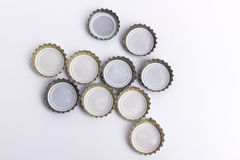 A bottle cap on white background Stock Photos