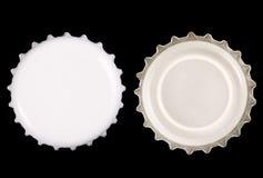 Bottle cap - White royalty free stock photo