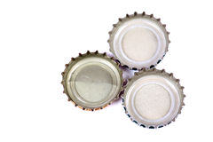 Bottle caps Royalty Free Stock Photo