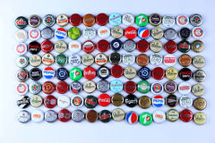 Bottle caps Royalty Free Stock Image