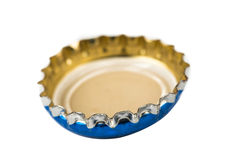Bottle caps isolated Royalty Free Stock Photos