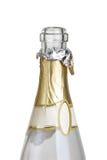 Bottle of champagne. Isolated on white background Stock Photo
