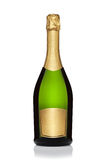 Bottle of champagne. stock photos