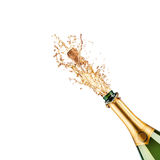 Bottle of champagne Stock Image