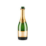 Bottle of champagne Royalty Free Stock Image