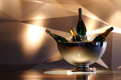 Bottle champagne Royalty Free Stock Images