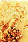 Bottle of champagne closeup Royalty Free Stock Photos