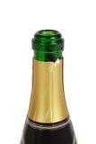 Bottle of champagne. Isolated on white background Stock Image