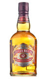 Bottle of Chivas Regal 12  isolated on white Stock Photography
