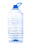 Bottle with water  over white. Royalty Free Stock Image