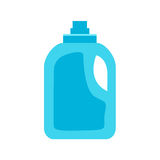 Bottle of cleanser on white background ,  Stock Photo