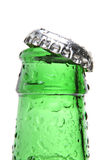 Bottle closeup isolated Royalty Free Stock Photography