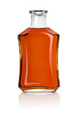 Bottle of cognac Stock Photos