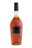 Bottle of cognac (brandy) Royalty Free Stock Photography