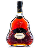 Bottle of cognac Hennessy royalty free stock images