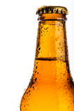 Bottle of cold beer Royalty Free Stock Photography