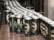 Bottle conveyor Stock Image