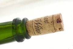 Bottle with cork Royalty Free Stock Photo
