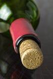 Bottle with a cork. Stock Photos