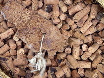 Bottle cork texture Royalty Free Stock Image
