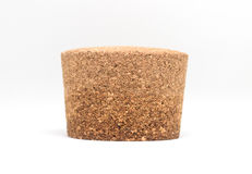 Bottle cork on white background. Bottle cork on white background stock image