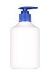 Bottle with cosmetics Stock Image