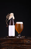 Bottle of craft beer Stock Photos