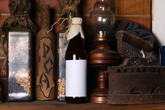 Bottle of craft beer Stock Images