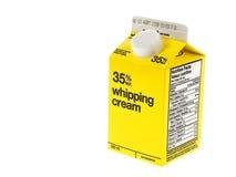Bottle cream Stock Images