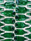 Bottle. Design Bottle Green Wall art Royalty Free Stock Images