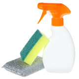 Bottle of detergent isolated Stock Photo